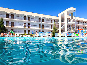 Amfora Beach Hotel Sunny beach - general view photo