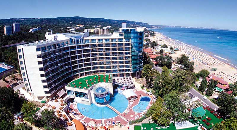 Marina Grand Beach Hotel Golden sands - general view photo