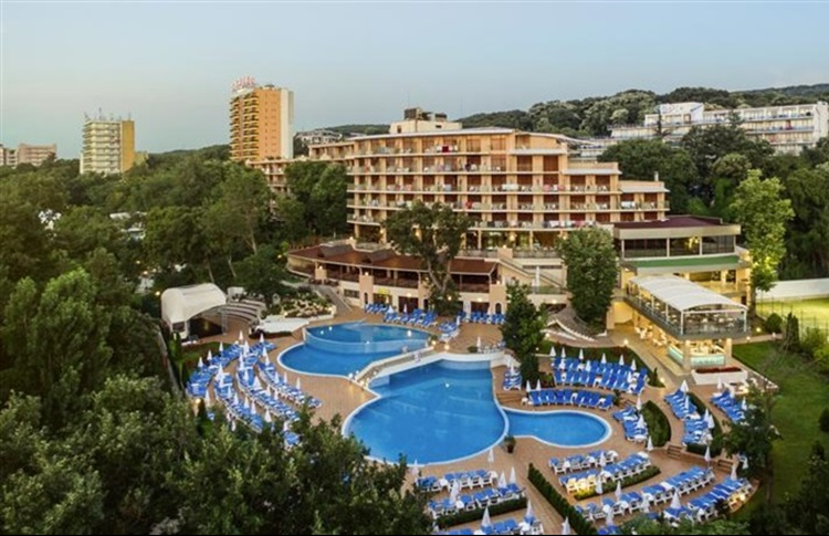 Kristal Hotel Golden sands - general view photo