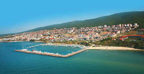 St.Vlas Bulgaria - general view, panorama