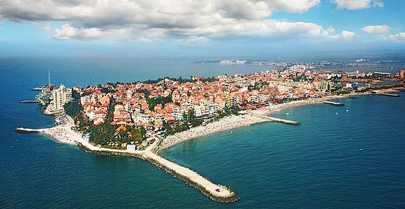 Pomorie Bulgaria - general view, panorama