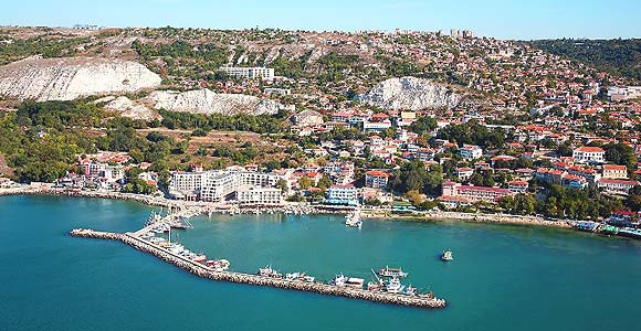 Balchik Bulgaria - general view, panorama