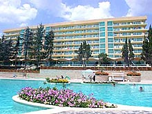 Image of Mirage Hotel in Sunny day, Bulgaria