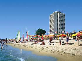 Image of Burgas Hotel in Sunny beach, Bulgaria