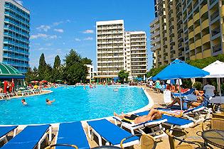 Hotel Bellevue On The Beach In Sunny Beach Resort In Bulgaria