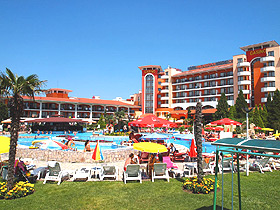 Hrizantema Hotel Sunny beach - General view photo