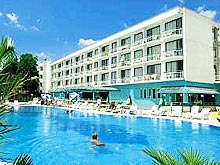 Image of Zefir Hotel in Sunny beach, Bulgaria