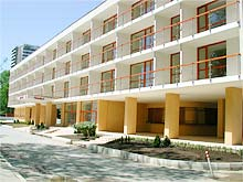 Foto of Merkury Hotel in Sunny beach, Bulgaria