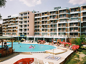 Image of Sirena Hotel in Sunny beach, Bulgaria