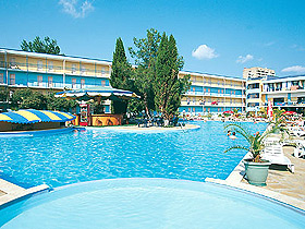 Azurro Hotel Sunny beach - General view photo