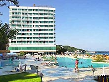 Image of Veronika Hotel in Sunny day, Bulgaria