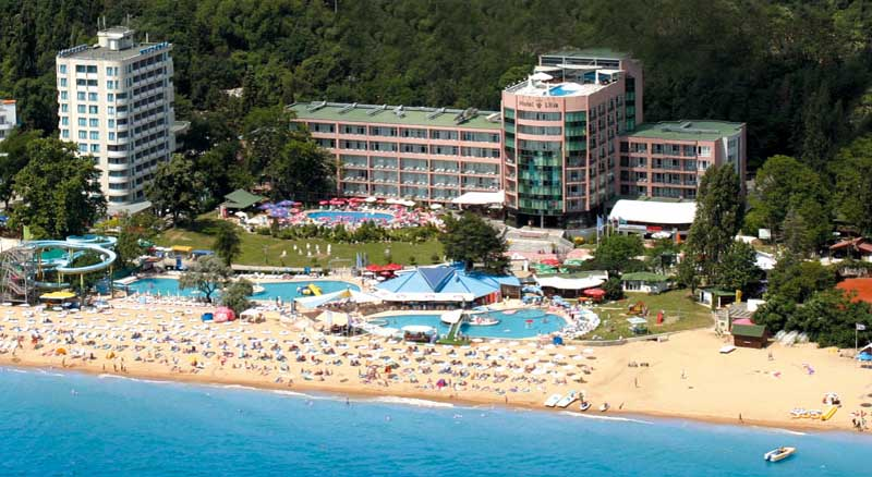 Lilia Hotel Golden sands - general view photo
