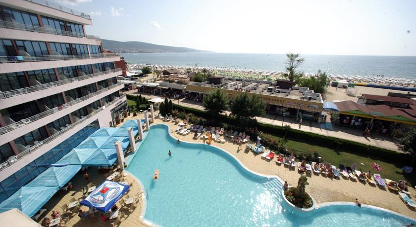 Globus Hotel Sunny beach - general view photo