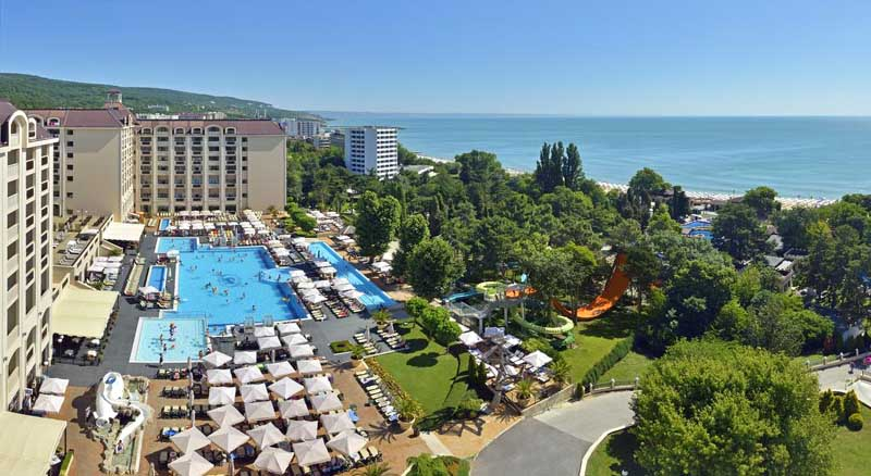 Melia Grand Hermitage Hotel Golden sands - general view photo